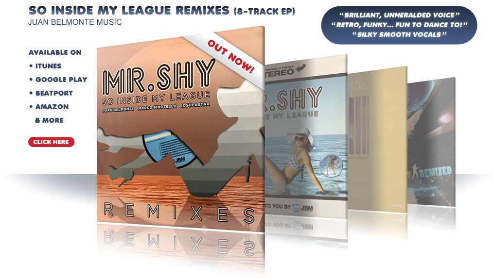 So Inside My League REMIXES - JBM Records